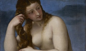 Venus Rising from the Sea, circa 1520, by Titian, which will feature in The Renaissance Nude.