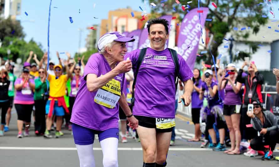 Harriette Thompson marathon