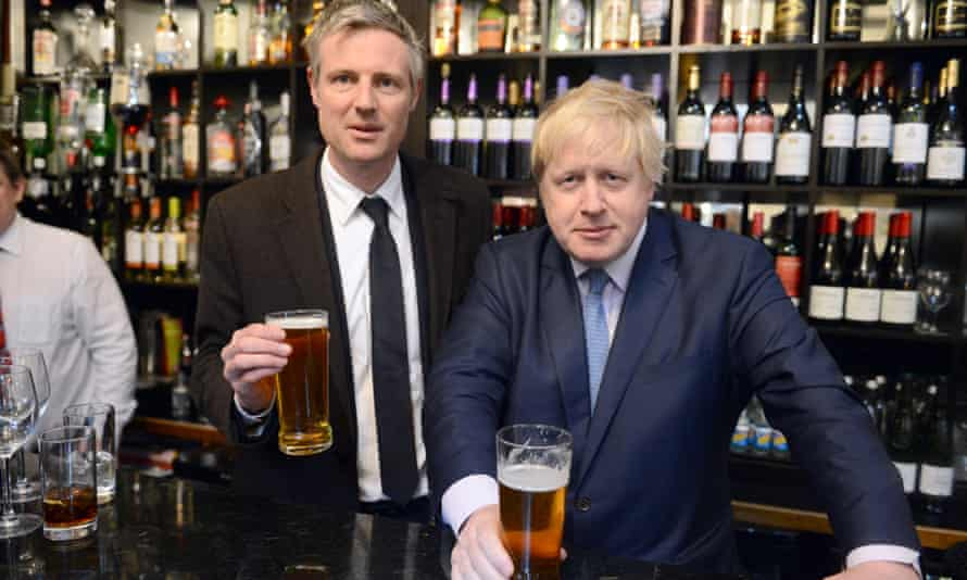 Boris Johnson and Zac Goldsmith.