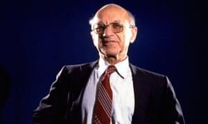 Milton Friedman in 1977