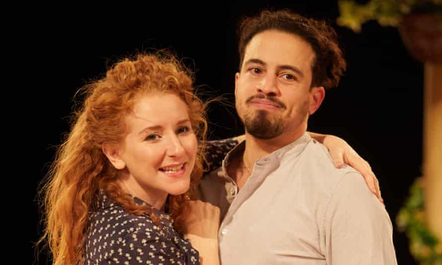 Centrifugal forces … Dorothea Myer-Bennett as Beatrice and Geoffrey Lumb as Benedick in Much Ado About Nothing..