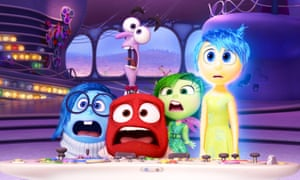 The emotional avatars of Inside Out.
