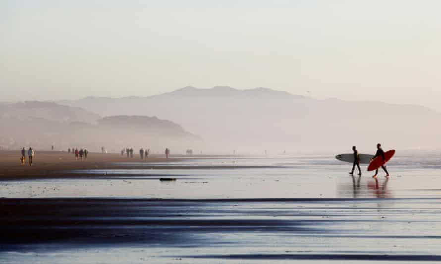 Ocean Beach, San Francisco.