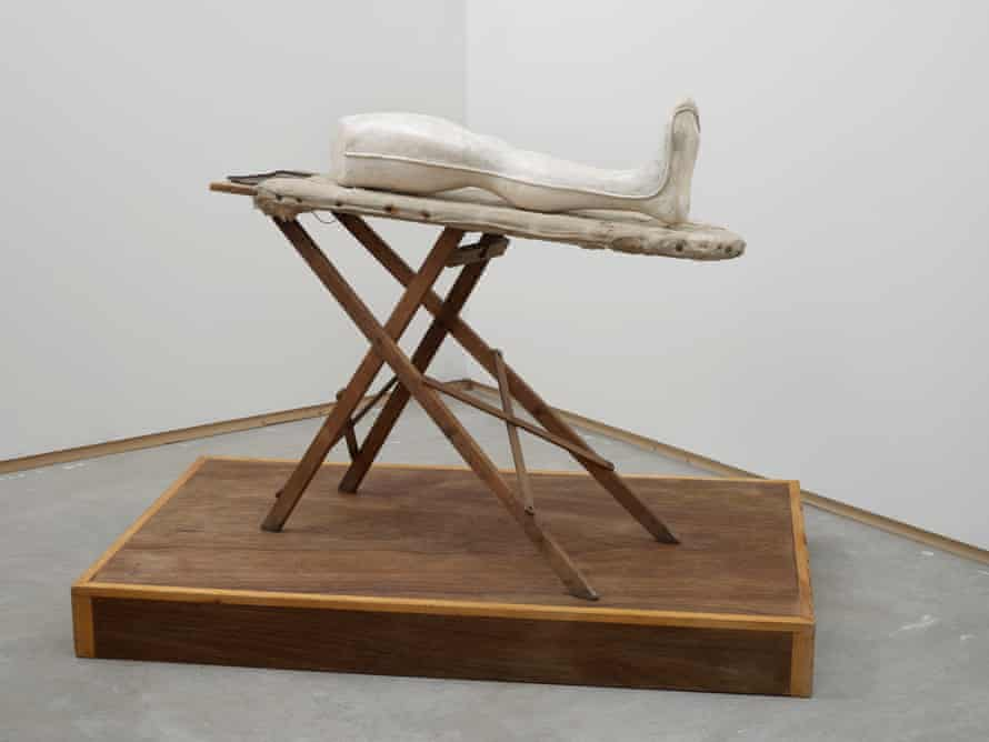 Louise Bourgeois's Leg (2002). Photograph: Andy Keate Courtesy of the Artist and Hales London New York