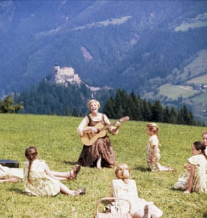 Do-Re-Mi outfits from The Sound of Music | $1.56mThe Von Trapp children's garments and Julie Andrews' brown dress from The Sound of Music sold together at a 2014 Hollywood memorabilia auction for $1.56m.