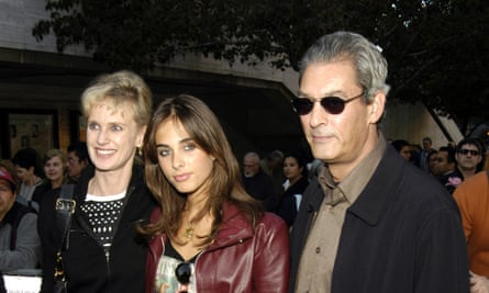 Siri Hustvedt with her husband Paul Auster, a novelist, and daughter Sophie Auster.