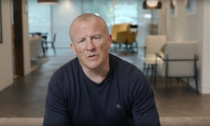 Neil Woodford apologises to investors in a still from his YouTube video last week.