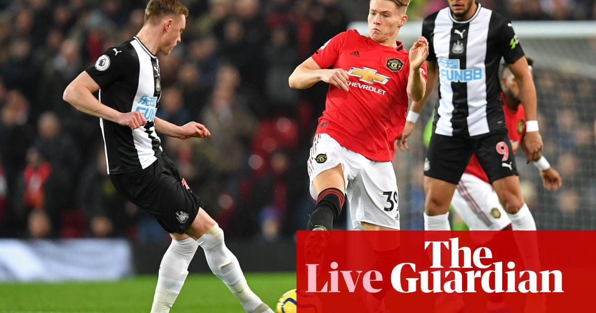 Manchester United v Newcastle United: Premier League – live!
