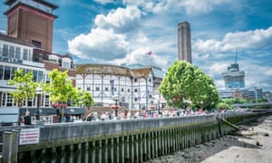 Shakespeare's Globe and Tate Modern on London's Bankside, which is privately owned.