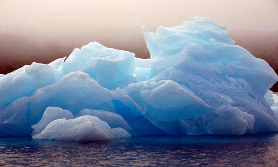 Fresh water: an iceberg floats off Ammassalik Island, Greenland.