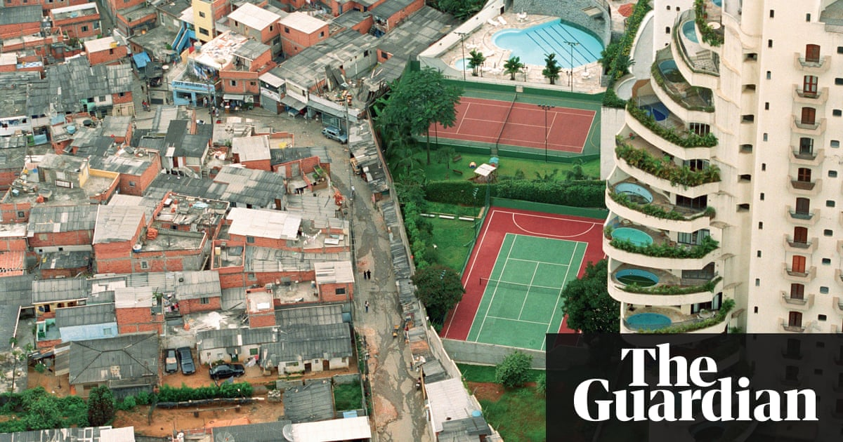 Inequality In A Photograph Cities The Guardian