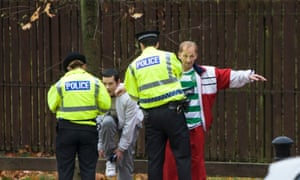 Police stop and search in Glasgow