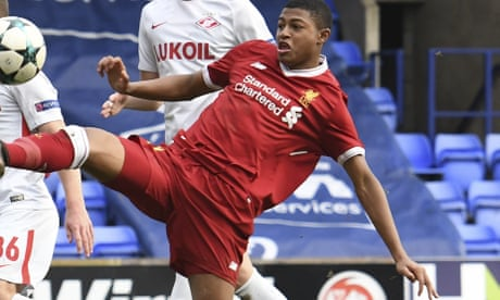 Spartak Moscow player charged with racist behaviour to Liverpool's Rhian Brewster