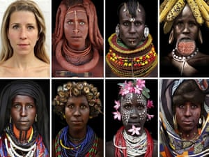 Boglarka Balogh's tribal portraits
