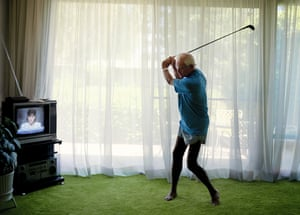 'A tortured labour of love': Larry Sultan's Practicing Golf Swing (1986).