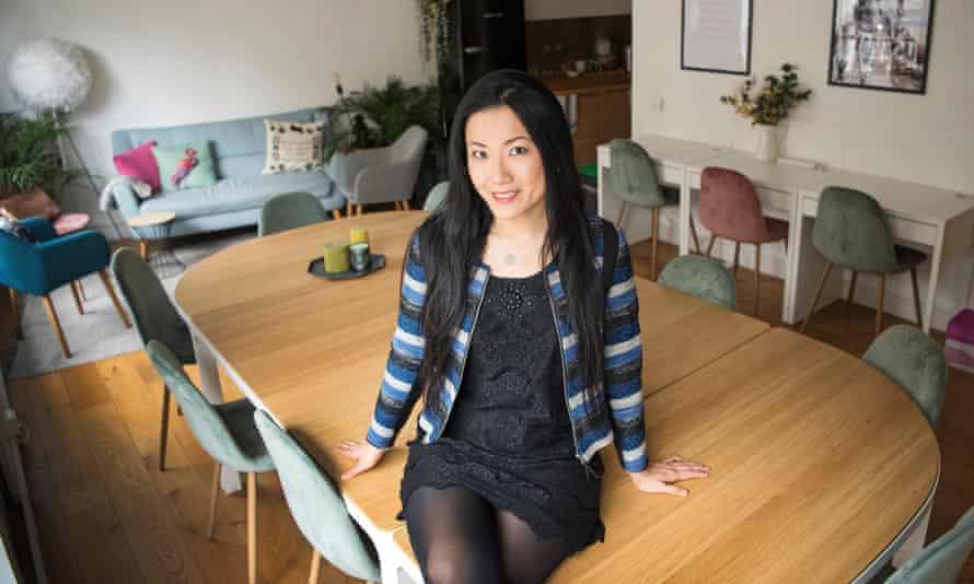 Lu Li at Blooming Founders in Shoreditch.