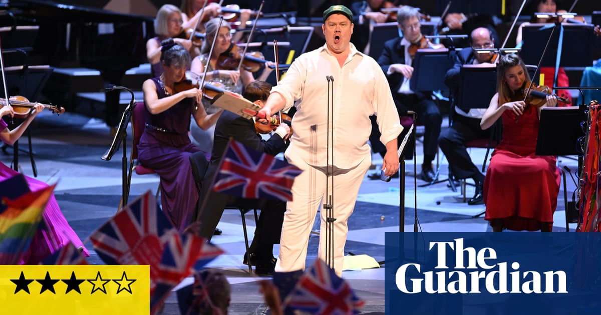 The Last Night of the Proms review – musically much to enjoy