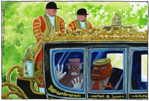 Steve Bell on the controversial planned state visit of Donald Trump to the UK