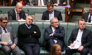 Joe Hockey, Scott Morrison and other male ministers in the House of Representatives, Australia