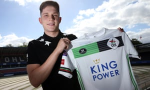 George Hirst at OH Leuven's Den Dreef Stadium after his move to the Belgian second-tier club