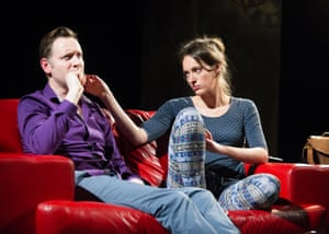 Rufus Wright with Waller-Bridge in The One by Vicky Jones at Soho theatre in 2014. Steve Marmion directed a 'filthy and vicious' play.