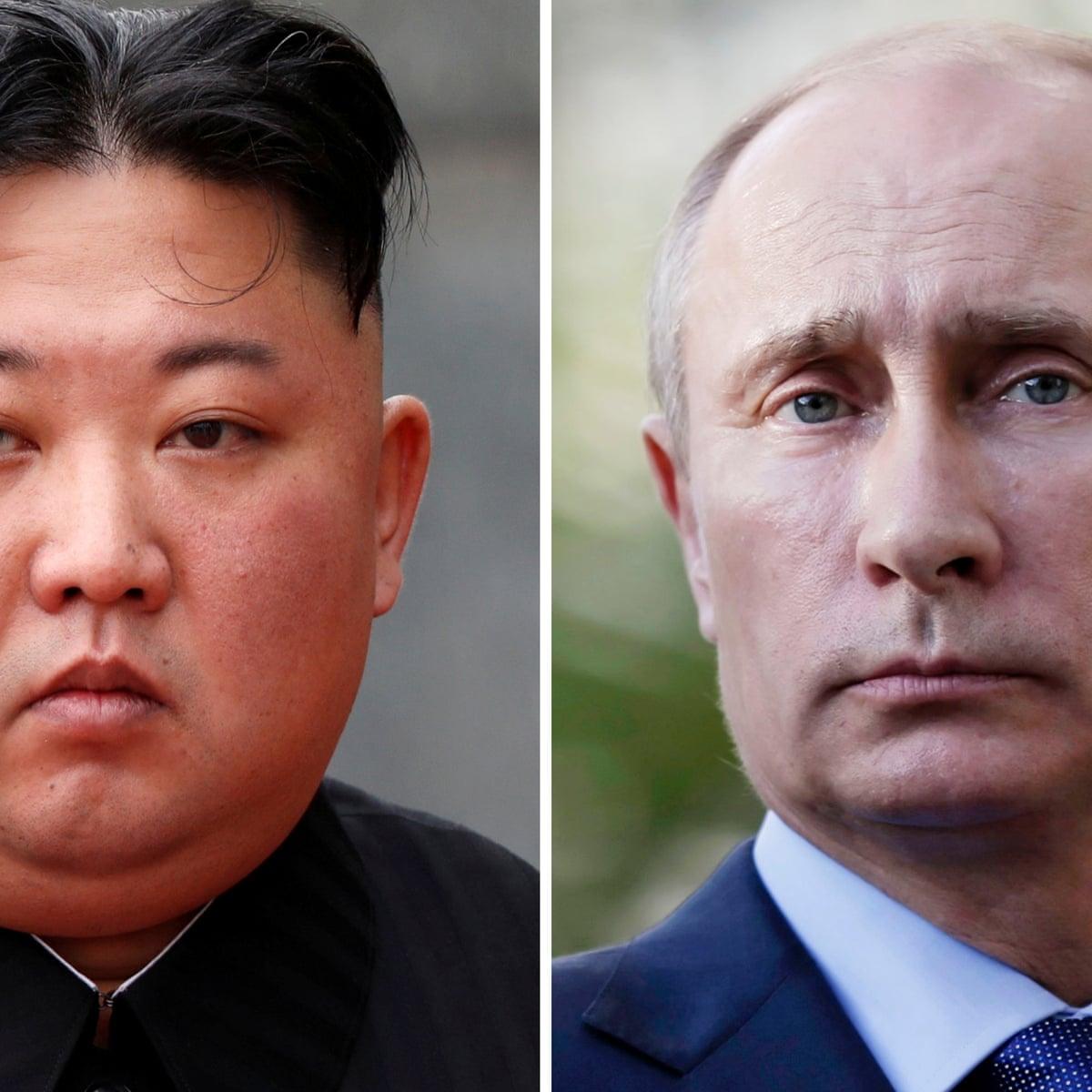 Vladimir Putin To Meet Kim Jong Un On Thursday For First Time Kim Jong Un The Guardian