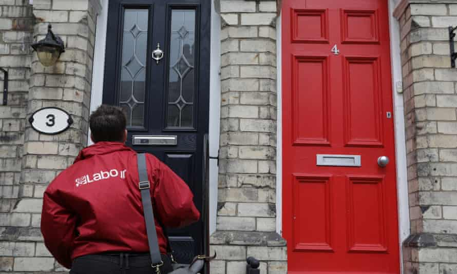 Labour canvassers regularly came up against anti-Corbyn feeling.