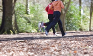 In the UK, health advice includes a recommendation for 150 minutes of moderate activity a week for adults.