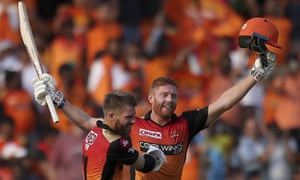 David Warner and Jonny Bairstow have been punching gloves like long lost brothers