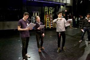 Connor Johnston, Jon Cook and Sebastian Chacon.