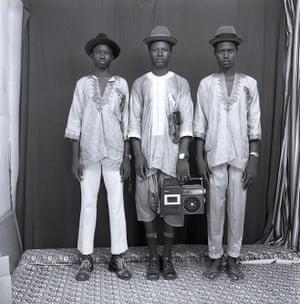 Les jeunes bergers Peulhs, 1972.