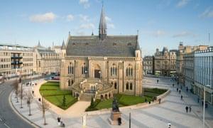 The McManus Exterior, Dundee