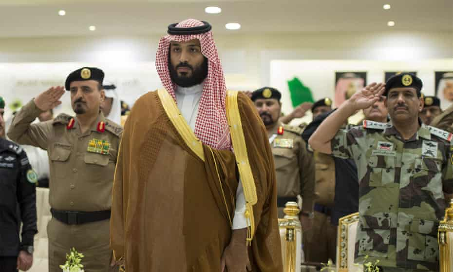 Mohammed bin Salman, Saudi's crown prince,