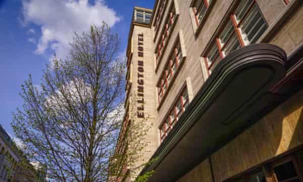 Exterior, el Hotel Ellington, Berlín