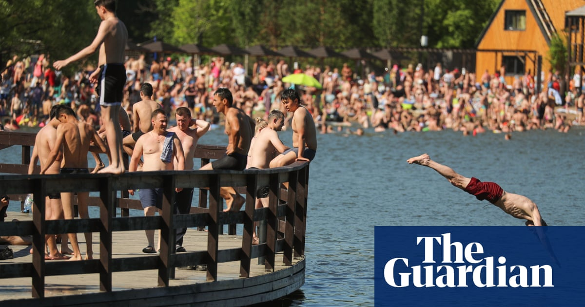 Moscow sees hottest June day for 120 years with more to come