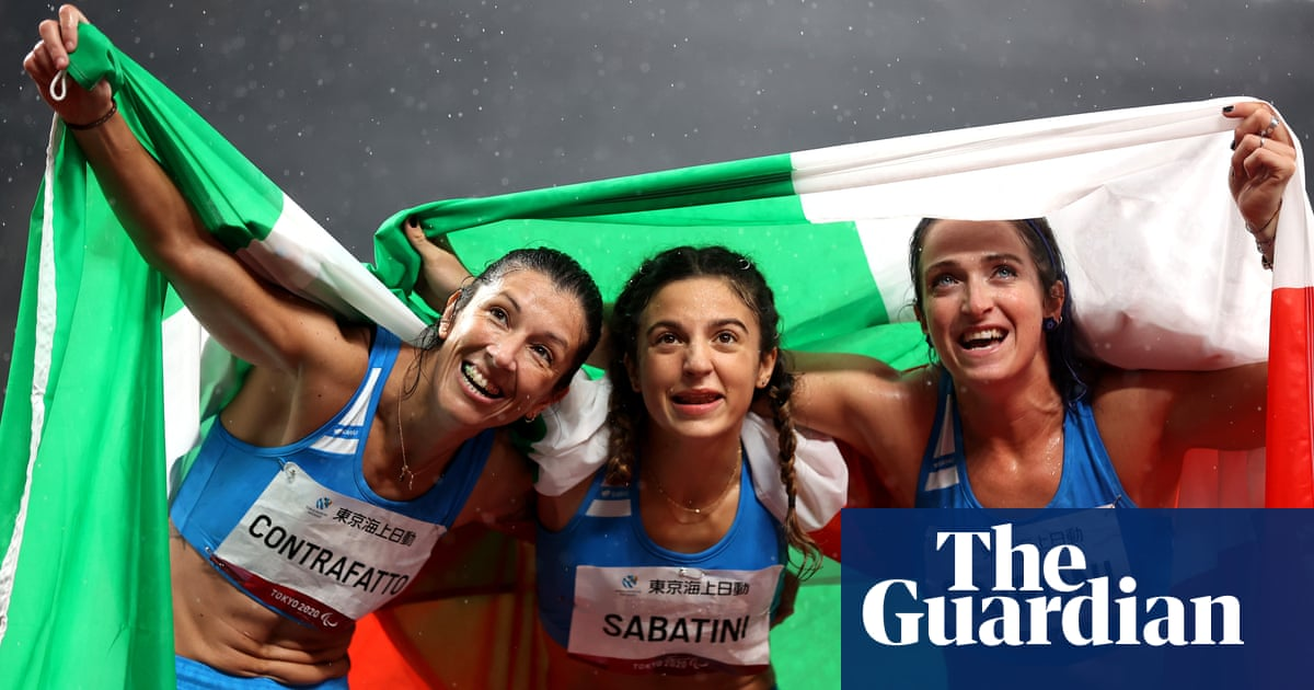 Tokyo 2020 Paralympics briefing: an Italy sweep and Hewett's heartache