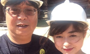 The last picture that Angela Gui has of her father, the detained publisher Gui Minhai.