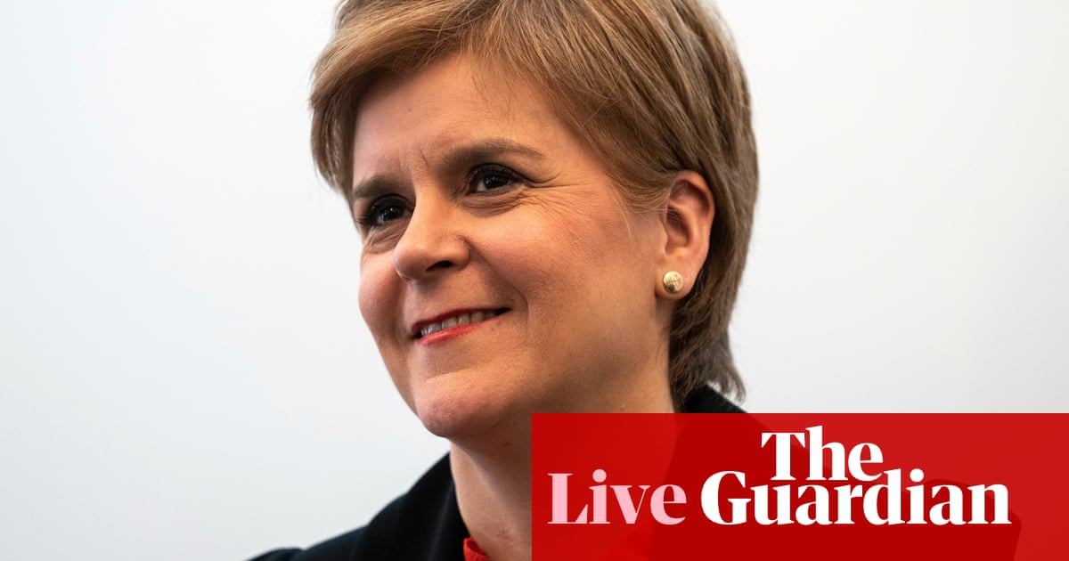 Sturgeon criticised by MSPs over Alex Salmond despite being cleared over ministerial code breach – live
