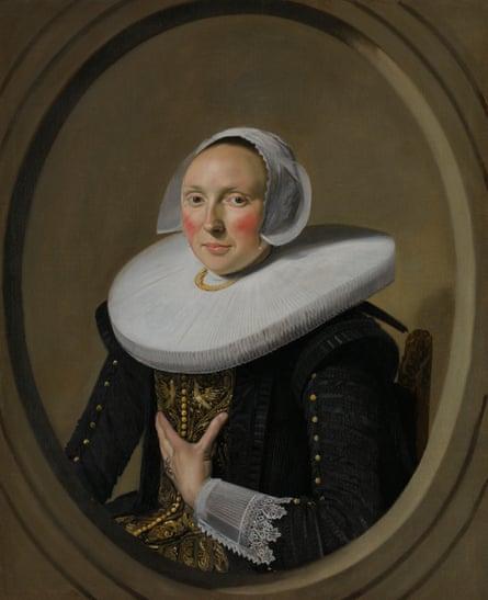 Portrait of a Woman (Marie Larp?), about 1635-1638, by Frans Hals