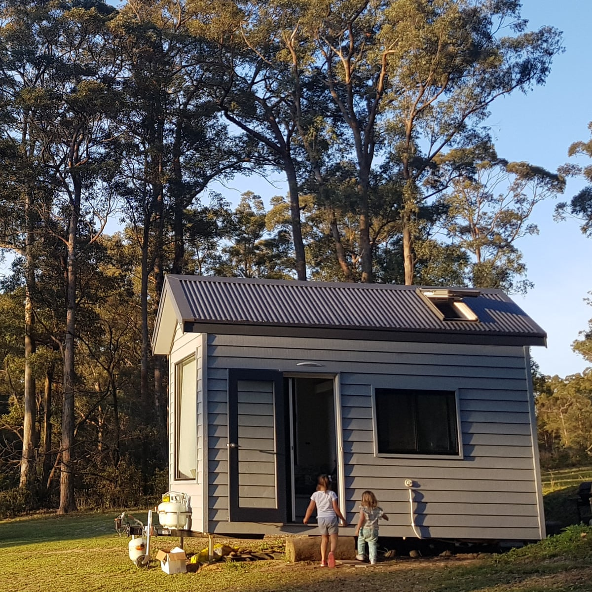 Tiny House Holiday Can A Family Of Four Fit In A 15 Square Metre Space New South Wales Holidays The Guardian