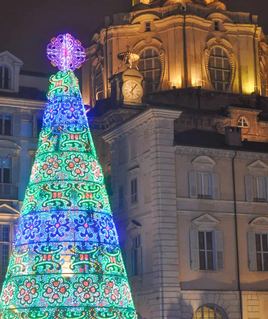 Buon Natale: Christmas lights in Turin.