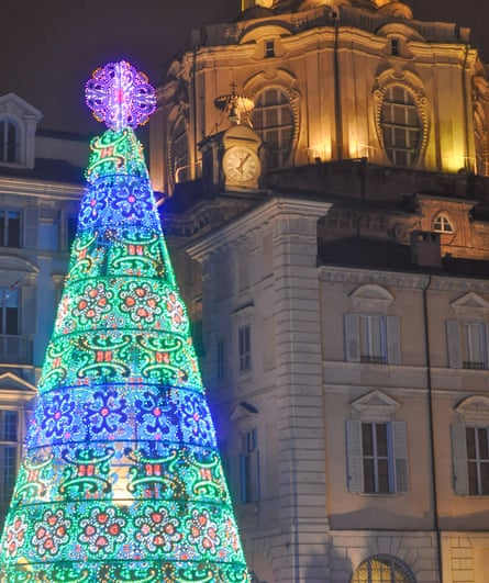 Buon Natale: Christmas lights in Turin.
