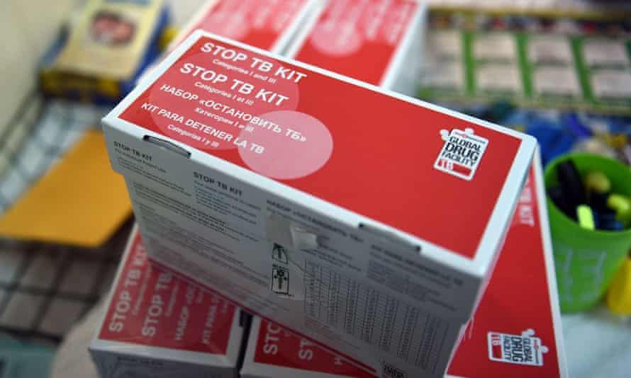 TB medicine at a clinic in Papua New Guinea.