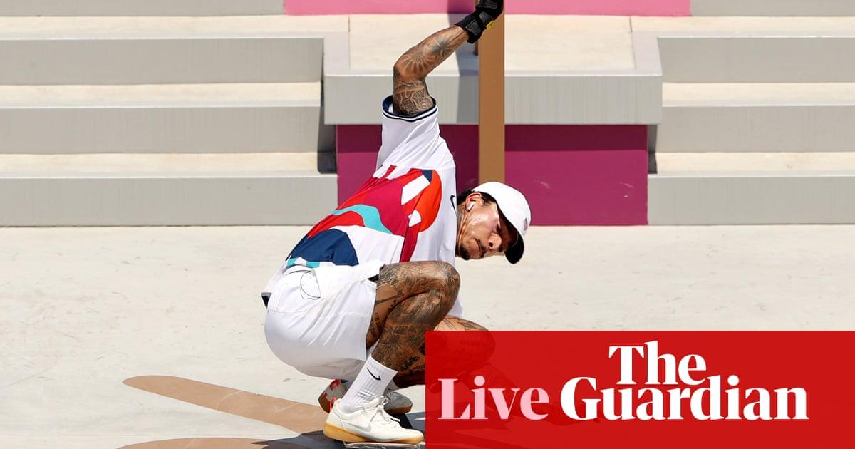 Olympic men's street skateboarding: Nyjah Huston goes for gold – live! - the guardian