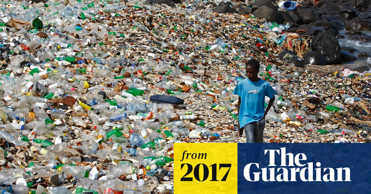 A million bottles a minute: world's plastic binge 'as dangerous as