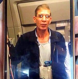 Purported EgyptAir hijacker