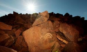 Rock art on the Burrup Peninsula