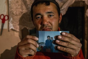 Anarbek, 27, who was enslaved in Kazakhstan for nine years after leaving his home town of Aravan, Osh Oblast, aged 17. He talks of being forced to perform hard manual labour with no remuneration, having to live in a small enclosed space and being sold on several times