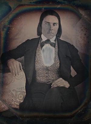 Photographer: Robert H Vance. Portrait of Charles Bogert c.1845. Daguerreotype