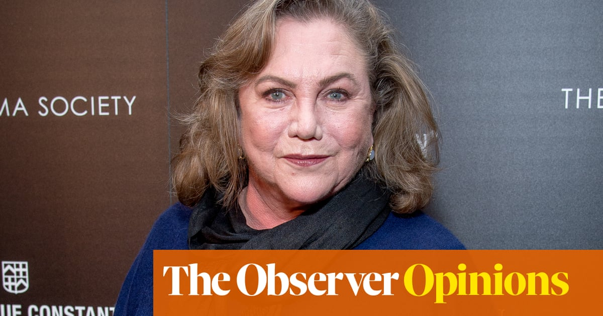 Kathleen Turner's candour becomes her and dishonors other -Alisters | Rebecca Nicholson